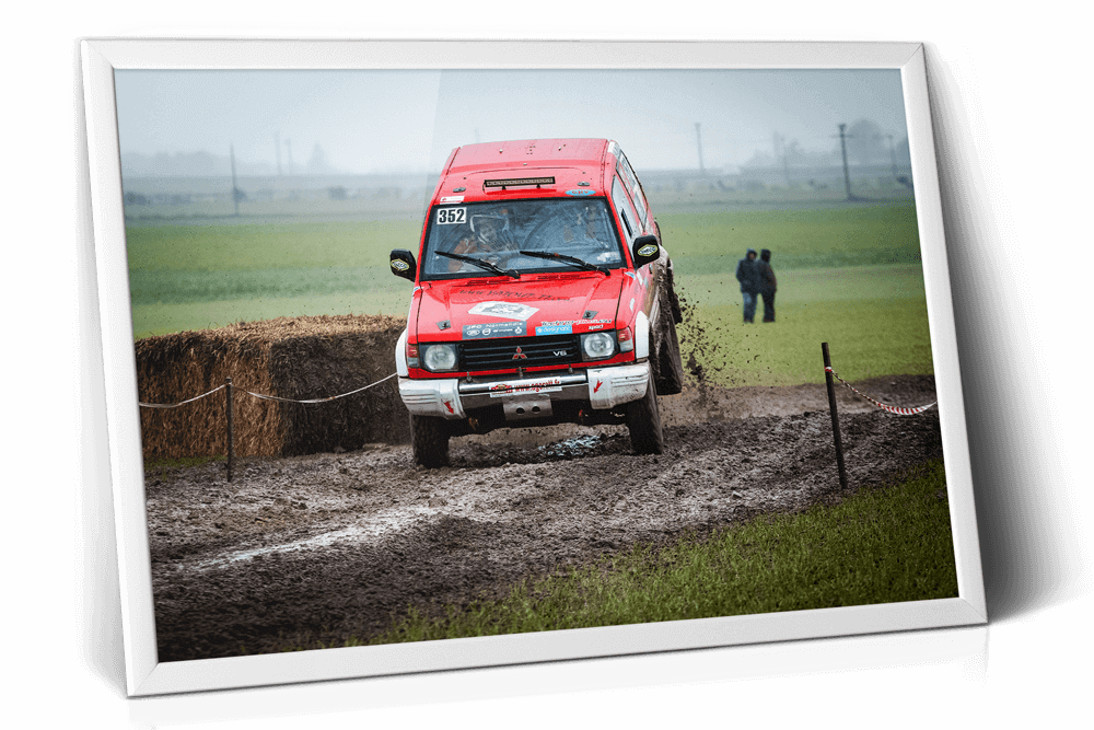Tirage photo Designatic Rallye National Cote Fleurie 2019 Deauville