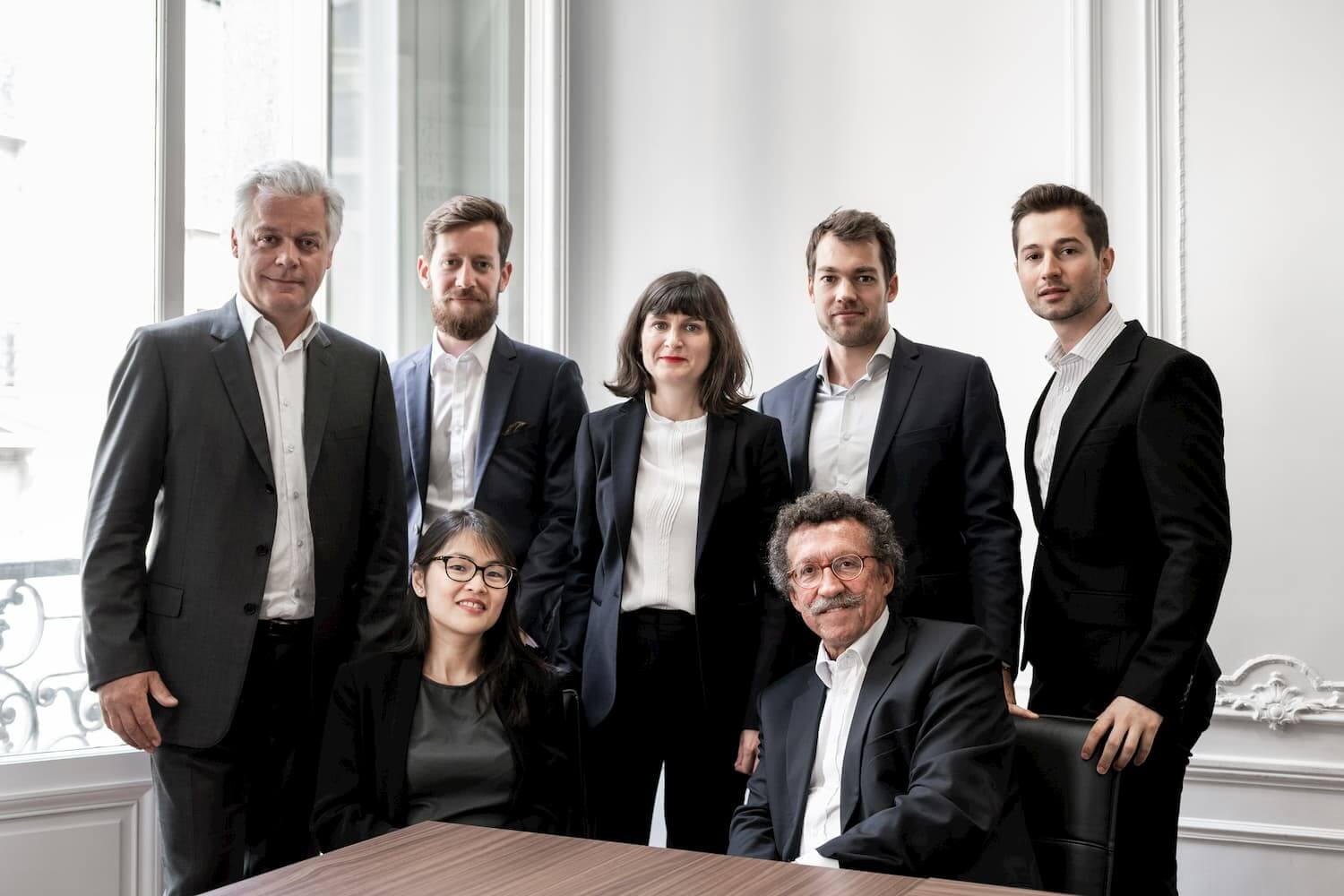 photographie corporate portrait entreprise banque d'images Designatic Palmer Consulting Paris