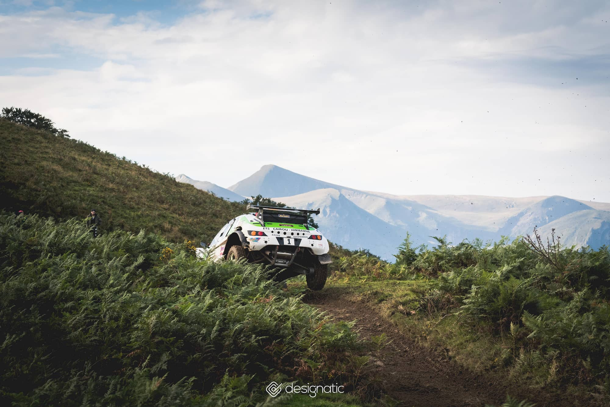 photographie événementiel sport auto automobile championnat de france designatic FFSA Rallye des Cimes pays basque Soule pyrénéens