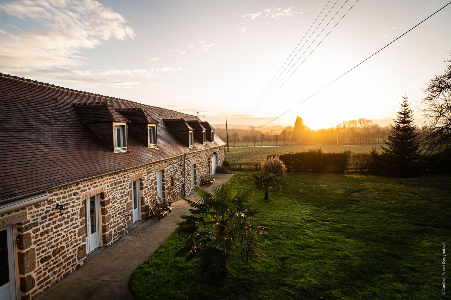 shooting photo corporate tourisme gîte chambres d'hôte immobilier banque image La Brocherie Magny le Désert Orne Normandie Designatic